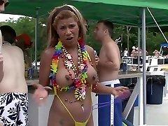 Hottest pornstar in best blonde, striptease porn scene