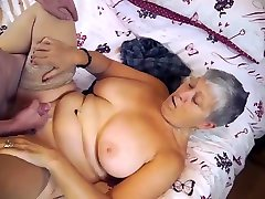 AgedLovE BBW Granny Chubbies Enjoying Hardcore