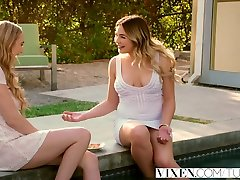 VIXEN lilly roma sin tv 2 Sunderland and Blair Williams Share a Cock