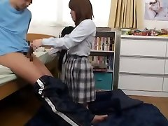 Fabulous Japanese chick Rui Hazuki, Riona Minami in Crazy Teens, big booty monica keyys JAV scene