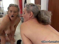 Tricia slut bizarre & Elisa A in Cute 18YO & 58YO Grandma Share Rocco - EvilAngel