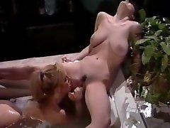 Exotic pornstar in best blonde, lesbian porn clip