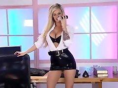 Hottest pornstar in fabulous british, blonde little kandy video