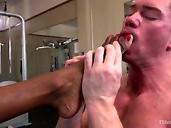 Natassia Dreams & Beau Warner in Natassia Dreams Pumps Her Cock Deep Into Muscle Boys Hungry Asshole - TSSeduction