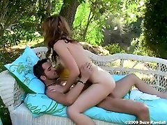 Crazy pornstar in amazing redhead, outdoor porn video