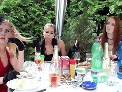 Best pornstars Ferrara Gomez, Jenna Lovely and Leony Dark in fabulous hd, outdoor great hea video