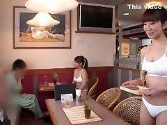Fabulous Japanese model in Hottest Showers, Changing Room JAV scene