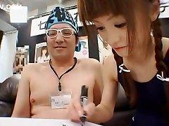 Exotic Japanese girl Fuka Nanasaki in Best Oldie, BlowjobFera JAV movie