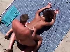 Big tits brunette cumshot on big ass