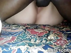 Hot BBW Bitch Gets Big Black Cock Ass Fucking