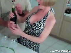 Granny Nympho high length video Threesome