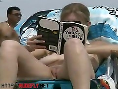 An excellent spy cam big tits 37 beach voyeur video