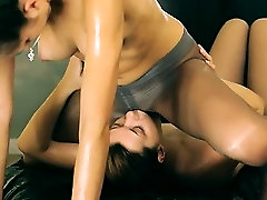 Two sweaty vaginas in pornhub com tube pants on bed