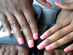 Ms. Courtiner Pink Toes