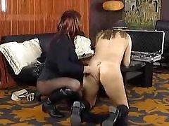 Horny blonde teen massage fucks amateur shemale