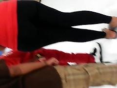 Big black moms sex in kitcent in store
