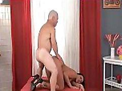 Bald Midget Fucks Hot Teen
