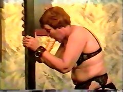 Amazing homemade Vintage, Spanking porn clip