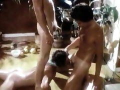 Crazy homemade gay video with Vintage, Blowjob scenes