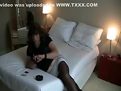 Amazing amateur gay movie with Crossdressers scenes