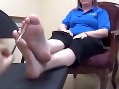 Sexy bbw soles and toes