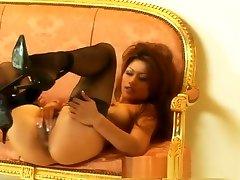 विदेशी पॉर्न स्टार Charmane स्टार में सींग का बना एकल लड़की, हस्तमैथुन xxx दृश्य