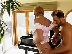 Best homemade shemale clip with Blonde, Guy Fucks scenes