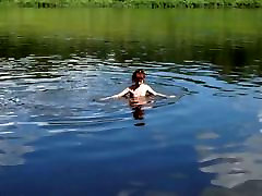 Nude Swim in Volga 3