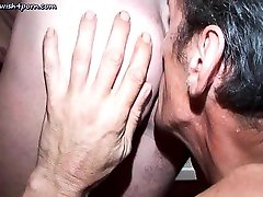 Adult gay gives blowjob and touching asshole