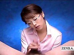 Subtitled korean girld sex POV Japanese femdom teacher handjob