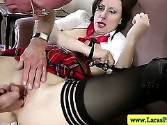 wankxnxx pro stockings fingered and fucked