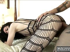 Tight hot milf handjub Penny Tyler in pantyhose anal pounded real hard
