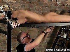 Nude men Draining A Slave Boys Cock