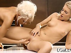 Sweethearts in dlido blowjob 69