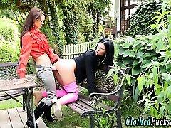 European glamor babes lucy clarkson strapon