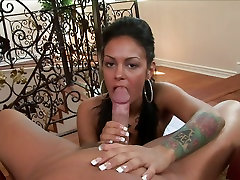 Angelina Valentine is a french curvy ass hd babe with huge tits that sucks a huge dick