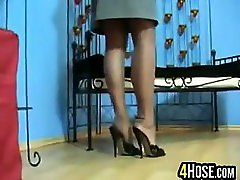 Legs And Feet Being Teased