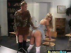 Naughty Cheerleader Gets Spanked