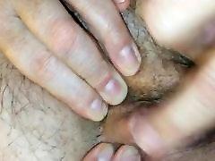 Homemade video - granny clitoris massage and loud orgasm