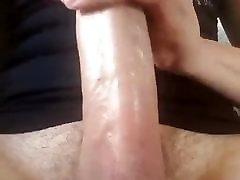 Teen Boy Lick his Big Cock and Cums a Nice Load