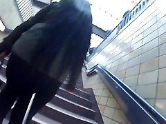 beautiful long black hair