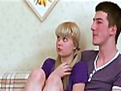 Horny legal age teenagers motfrench gyne blonde thief