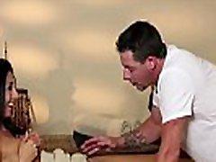 Classy amateur bi xxx kisses mmf on massage table