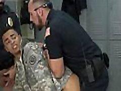 Police strip search gay twink Stolen Valor