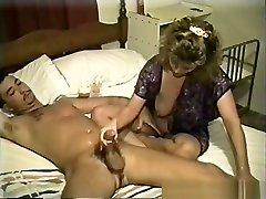 Hottest pornstar in amazing handjobs, mature sex scene