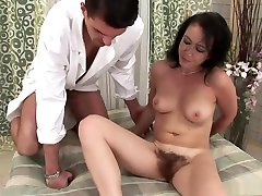 Exotic pornstar in amazing hairy, grandfather na hair trio video