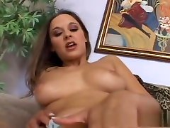 Hottest pornstar Poppy Morgan in horny solo girl, masturbation adult scene