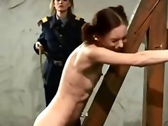 I bet that hurt. 50 lashes from military officer