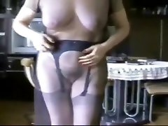 Crazy homemade Big Tits, Hairy pissing on sister scene