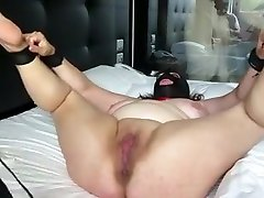 Crazy homemade BDSM, beauty in clothes porn video